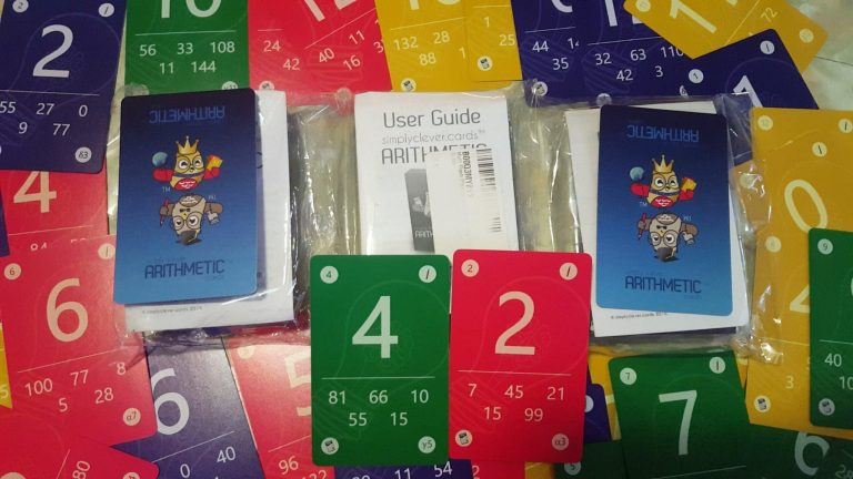 arithmetic board game giveaway