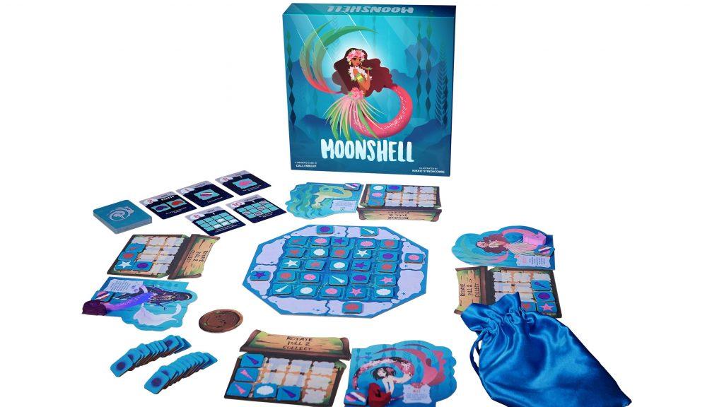 moonshell mermaid game set up